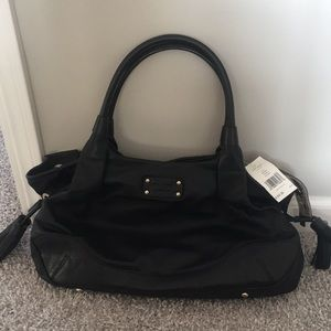 New with Tag Kate Spade Black Leather Stevie Bag